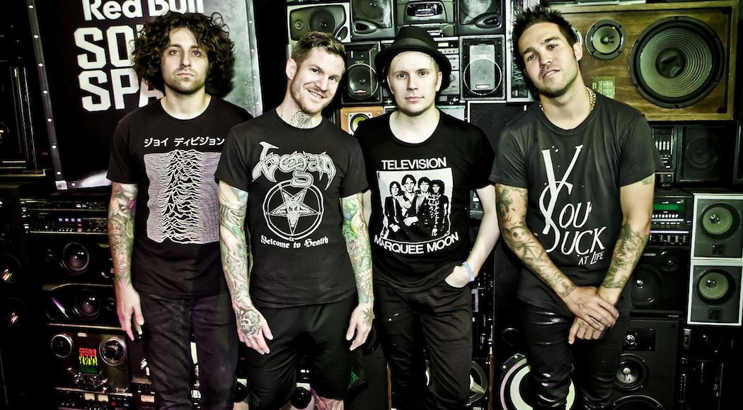 Fall Out Boy Performs at the Red Bull Sound Space at 106.7 KROQ