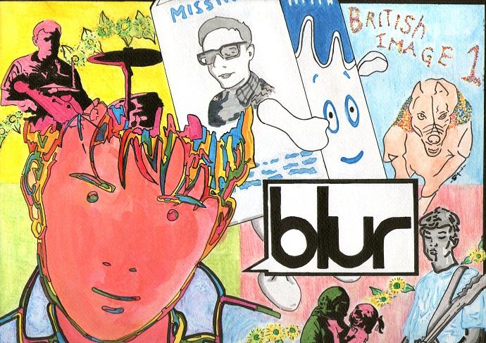 Группа Blur – британский коллектив, родоначальники музыкального стиля «бритпоп».