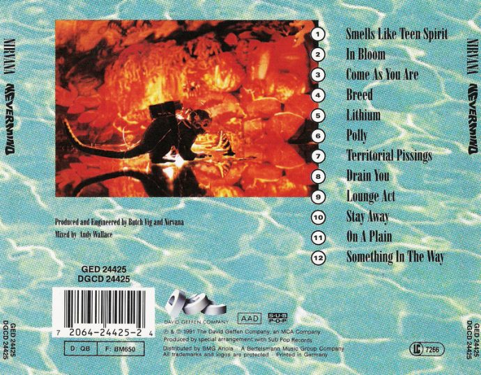 nevermind back cover