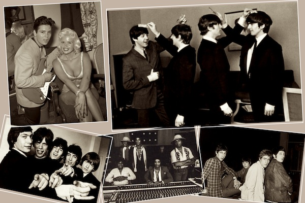 The Beatles, The Rolling Stones...