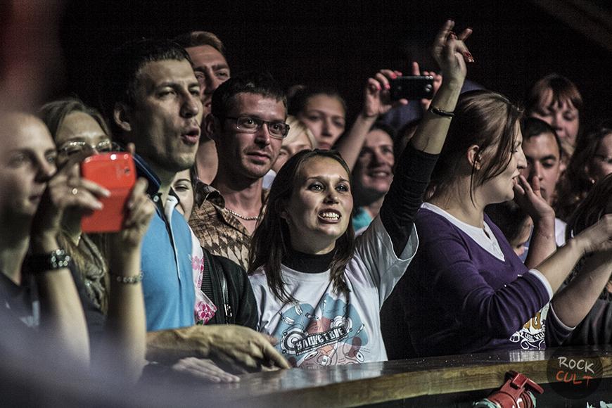 Ночь живых музыкантов в крокусе: зрители