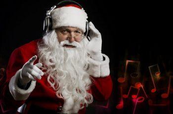 Santa-Claus-Christmas-rock music новогодние подборки дед мороз