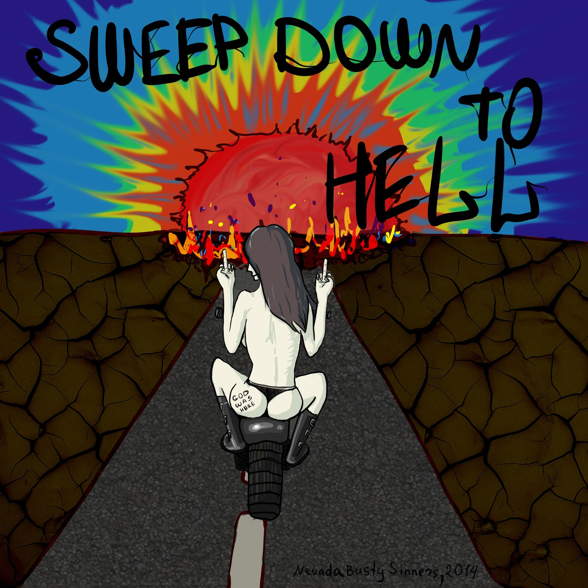Nevada Busty Sinners – Sweep Down To Hell