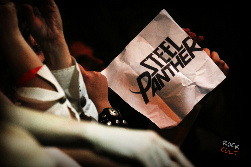 Steel Panther в Москве фото отчет