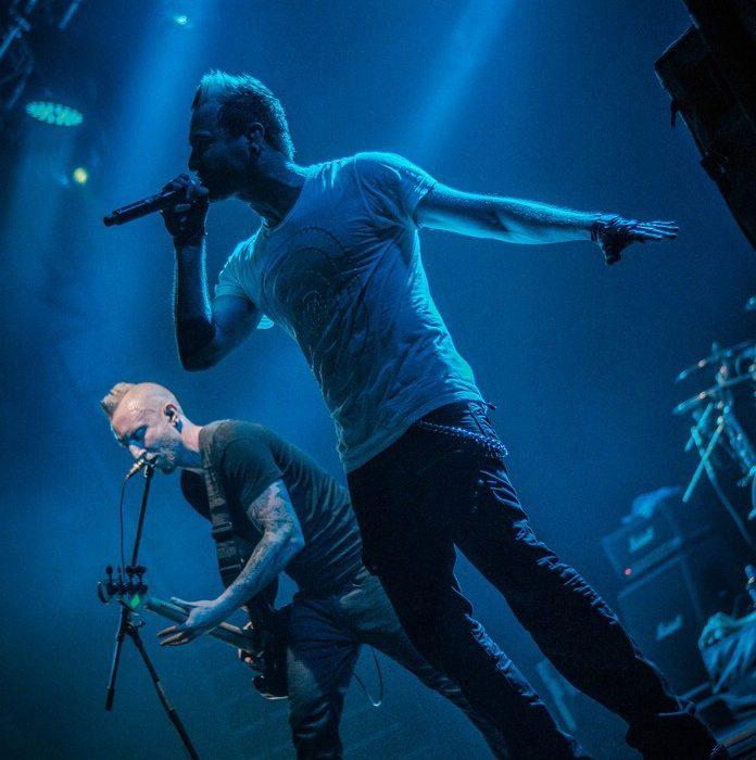 Thousand Foot Krutch Москва Ray Just Arena 27.04.14