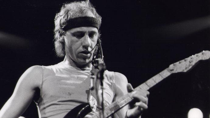 (Left-Handed Rock Musicians) Музыканты левши Марк Нопфлер