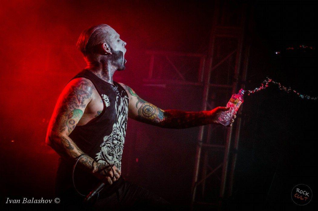 Фотоотчет | Combichrist в Москве | Volta | 22.08.2014
