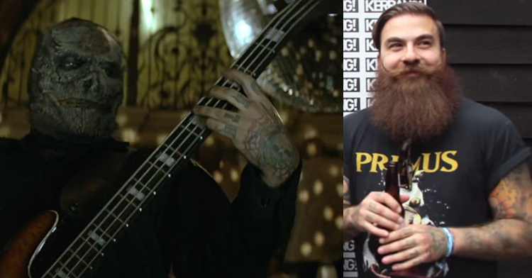 новый басист слипнот ( slipknot)