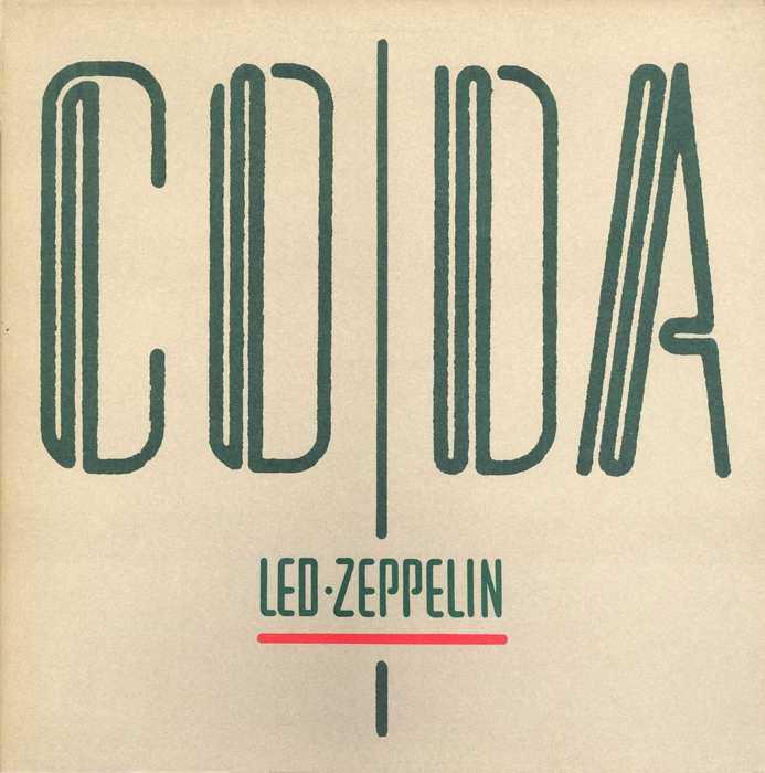 Led Zeppelin Coda 1982