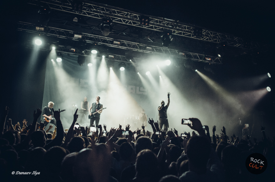 Фотоотчет ч.1 | Poets of the Fall в Москве | Ray Just Arena | 5.11.2014 фото зрители концерт