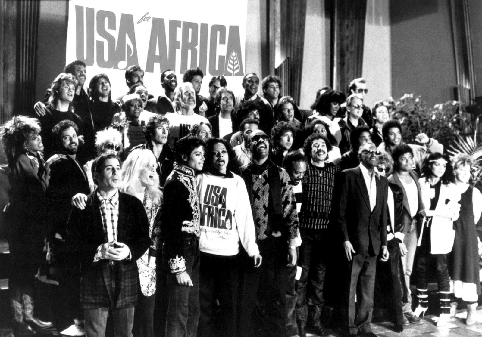 28 января в истории музыки - была записана песня We Are The World