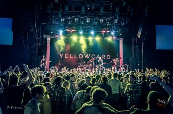 yellowcard петербург концерт 2016