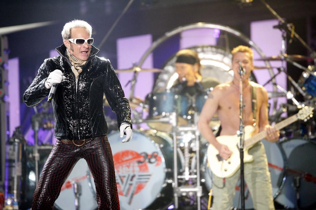 David Lee Roth of Van Halen performs at Tiger Jam XI in Las Vegas