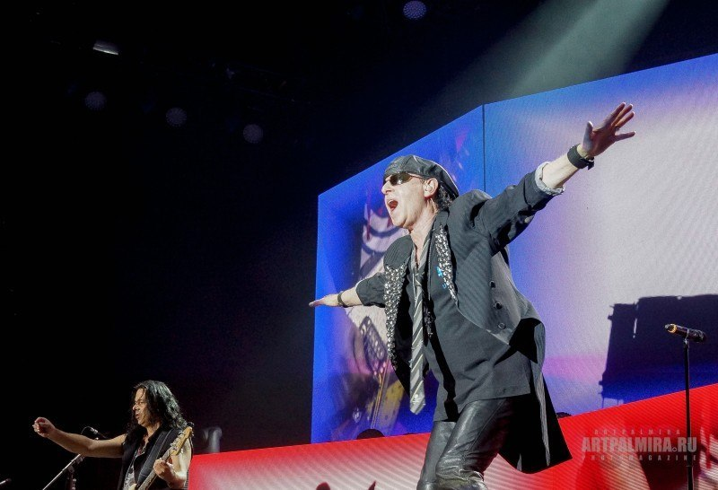 Фото | Scorpions в Москве | СК Олимпийский | 27.05.2015