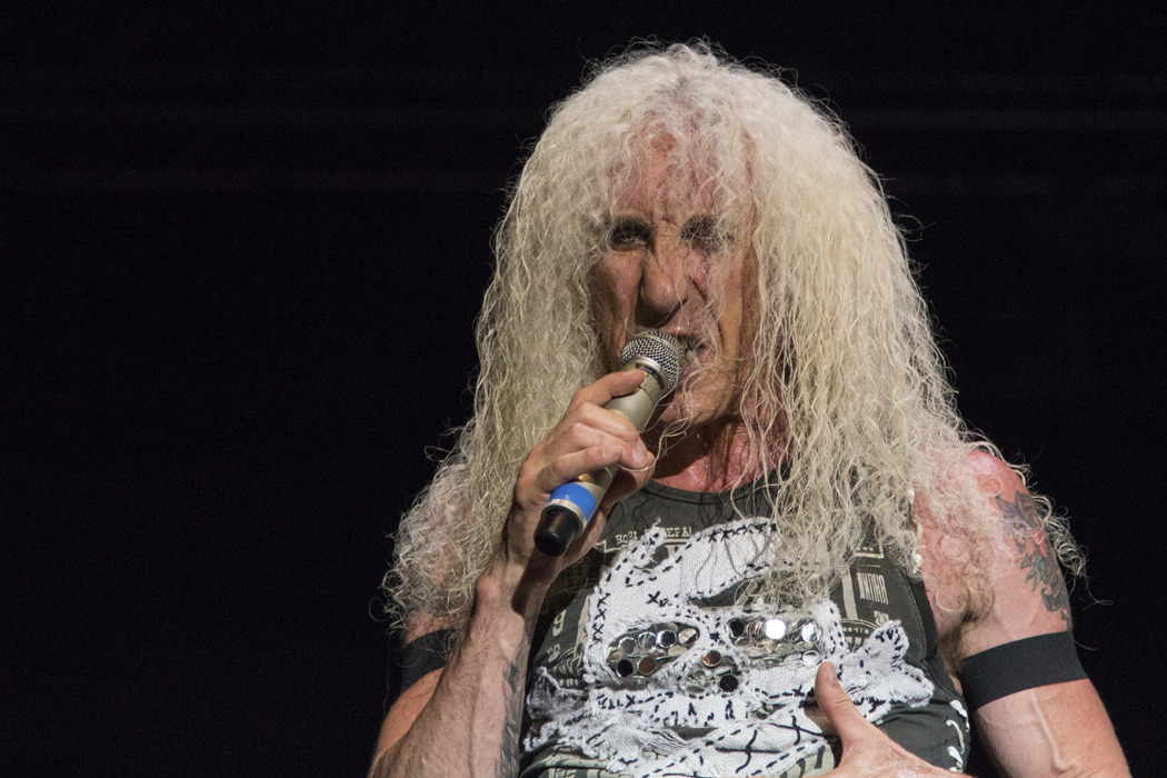 """Daniel """"Dee"""" Snider from Twisted Sister at the See-Rock Festival 2014"""