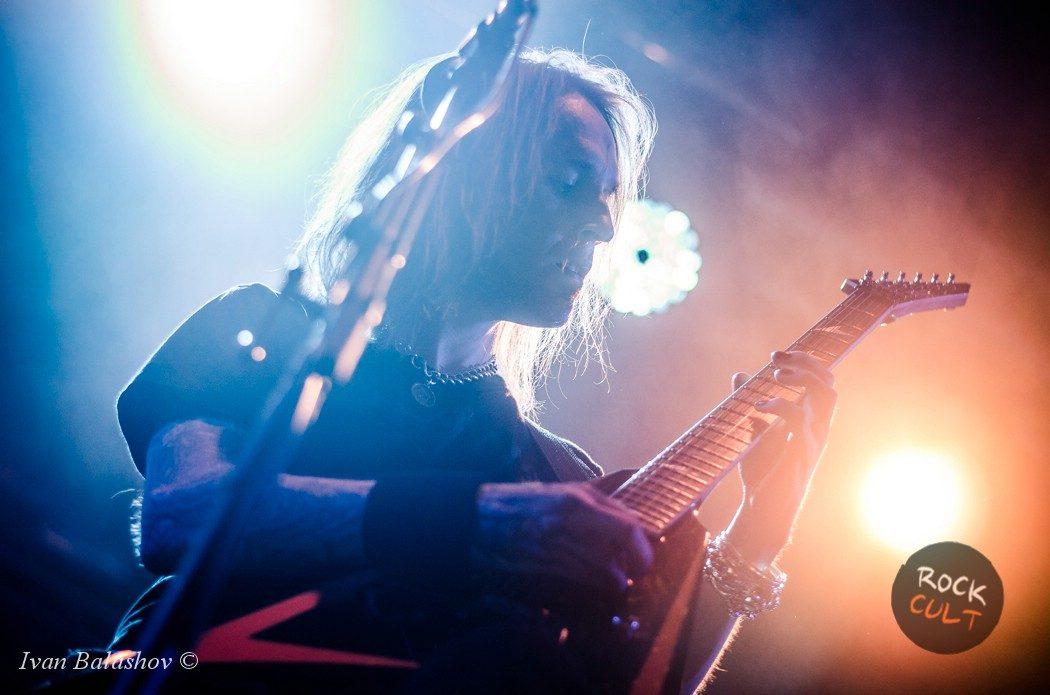 фото Children Of Bodom в Москве Ray Just Arena 12 июня