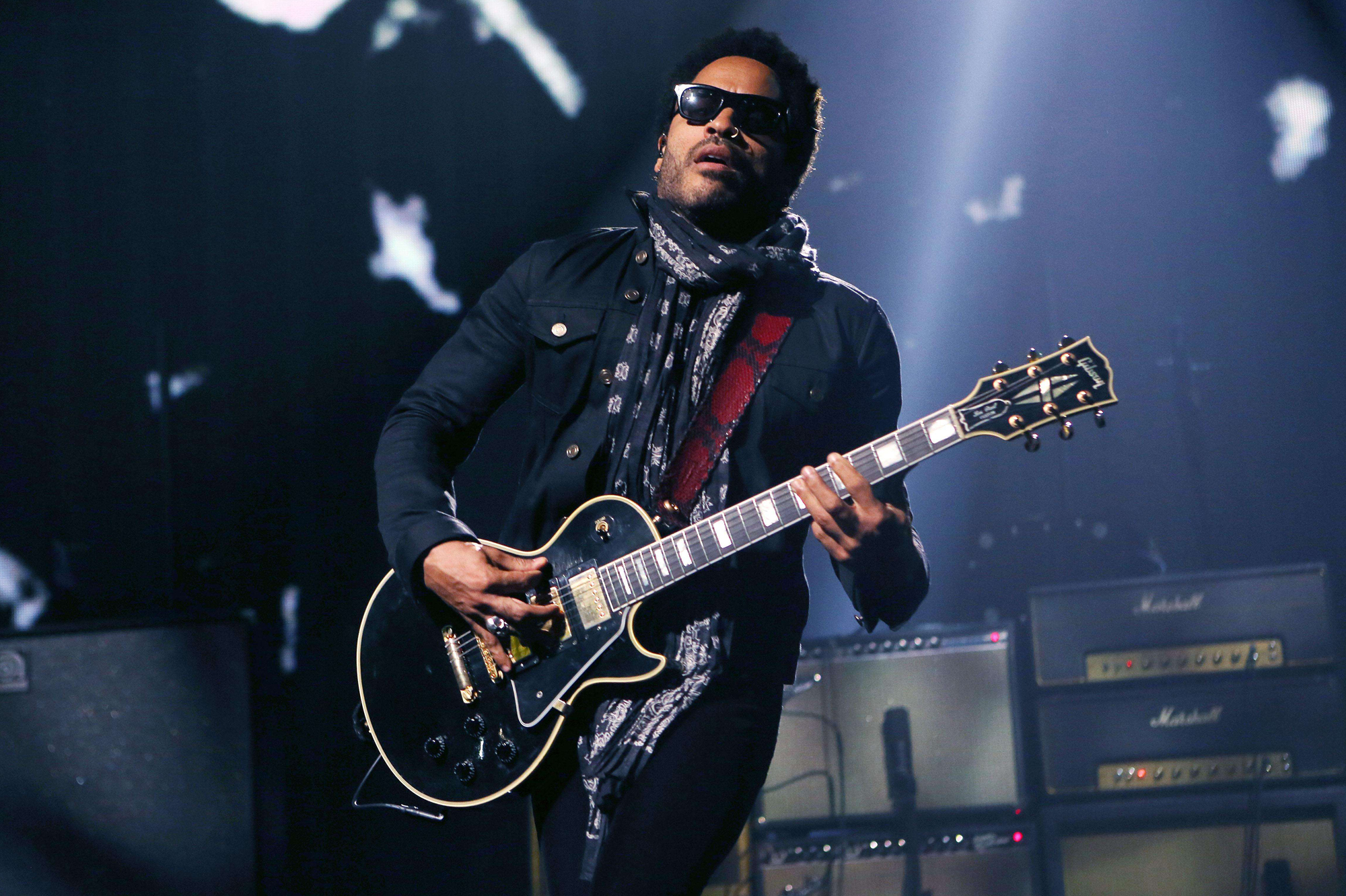 Britain Lenny Kravitz iTunes Festival