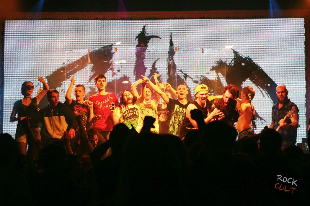 фотоотчет caliban в москве театръ 5 июня