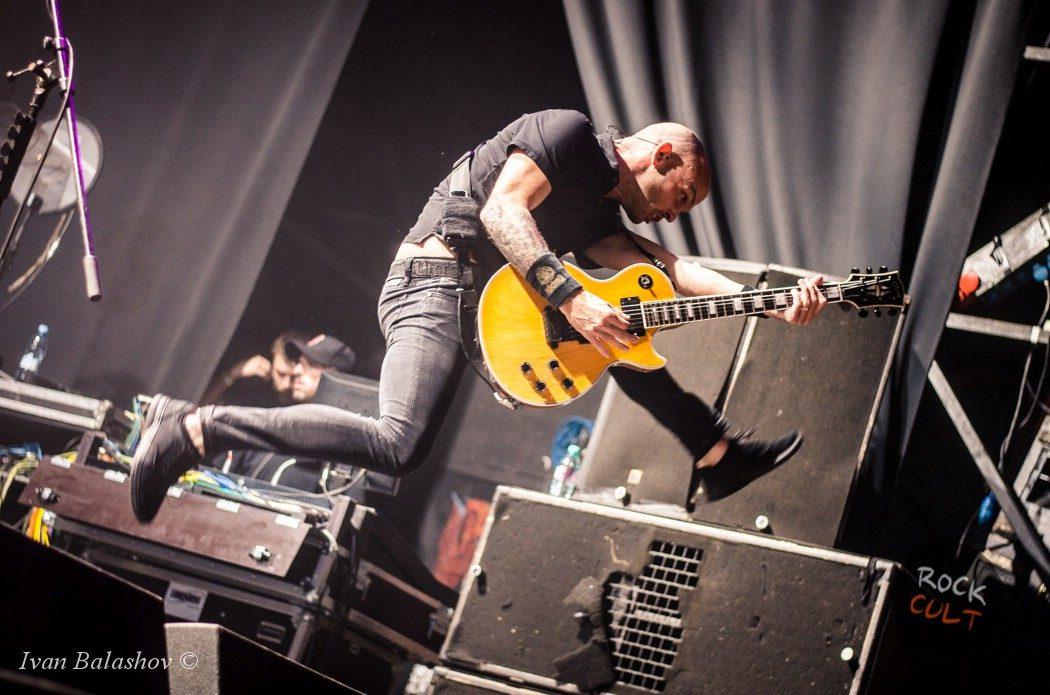 Фотоотчёт | Rise Against в Москве | Ray Just Arena | 29.06.2015 фото