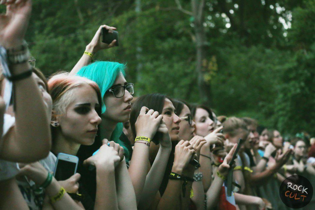Репортаж Фото Placebo в Москве Зеленый Театр 4 июля