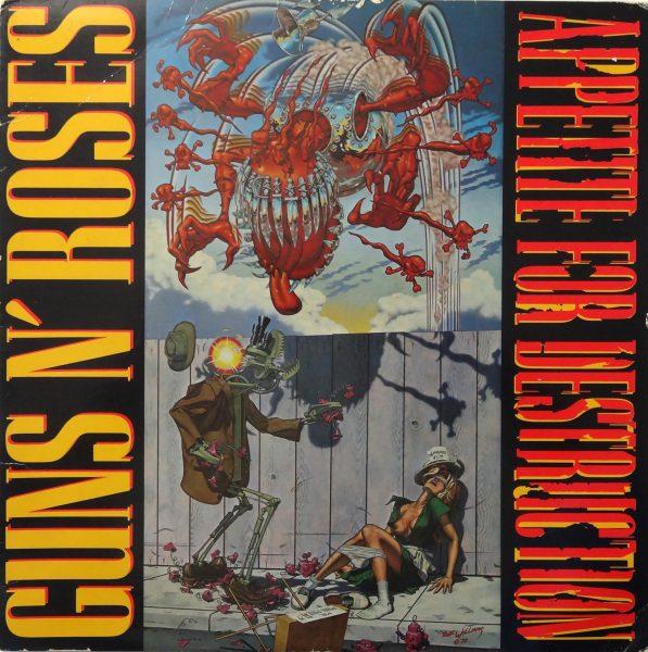 Appetite for Destruction 6 августа в истории рока – дебютный альбом Guns N' Roses попал на первую строчку американского чарта факты цитаты