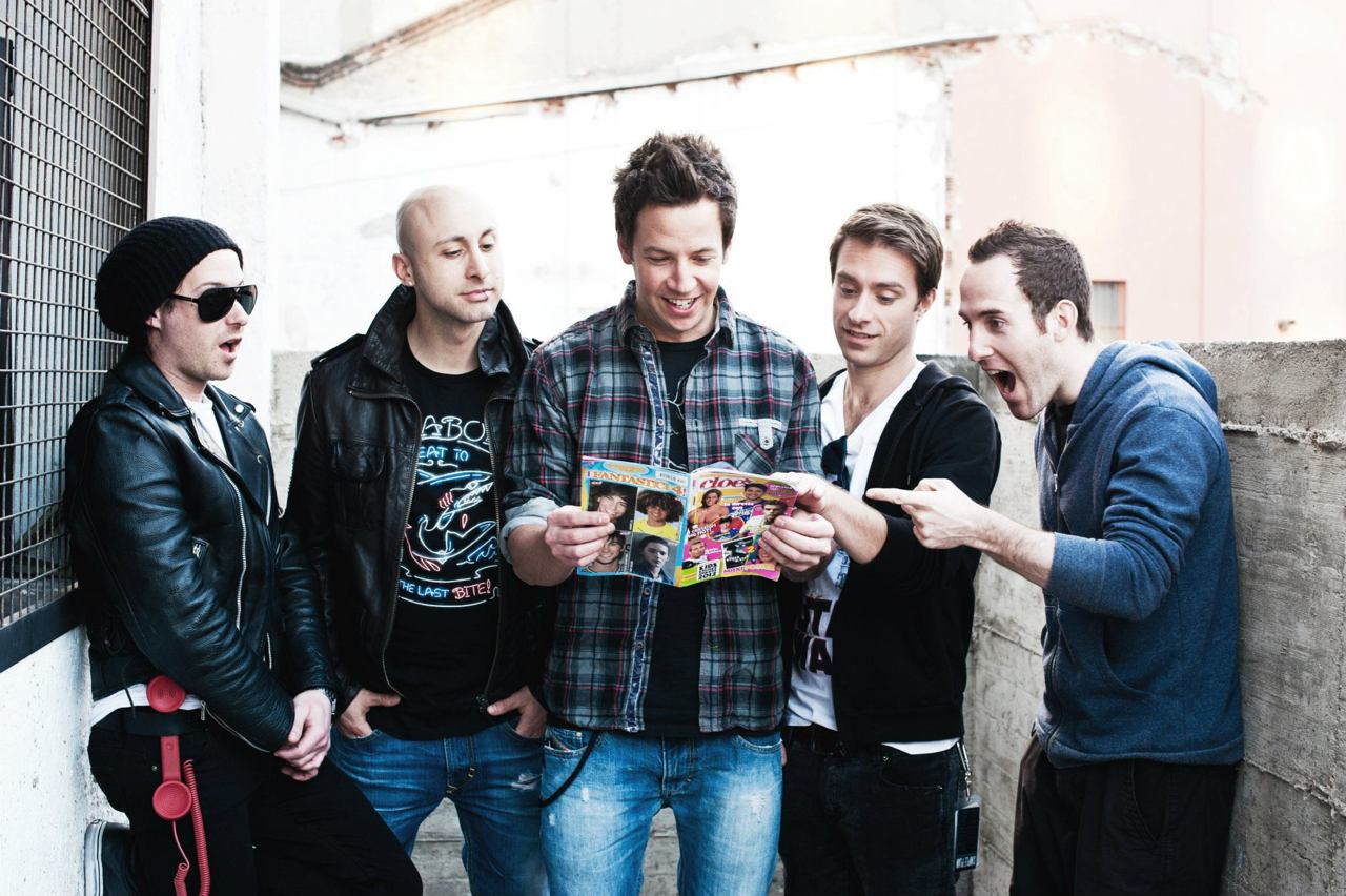 "a simple plan We're celebrating the 15th anniversary of ""no pads, no helmetsjust balls"" come hear the album in full on tour tickets and vip upgrades at wwwsimpleplanc."