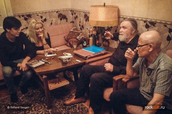 """Интервью с Андреем Тропилло """"Дела современной музыки очень плохи. Надо начинать всё с начала."""" Зоопарк, Майк Науменко"""