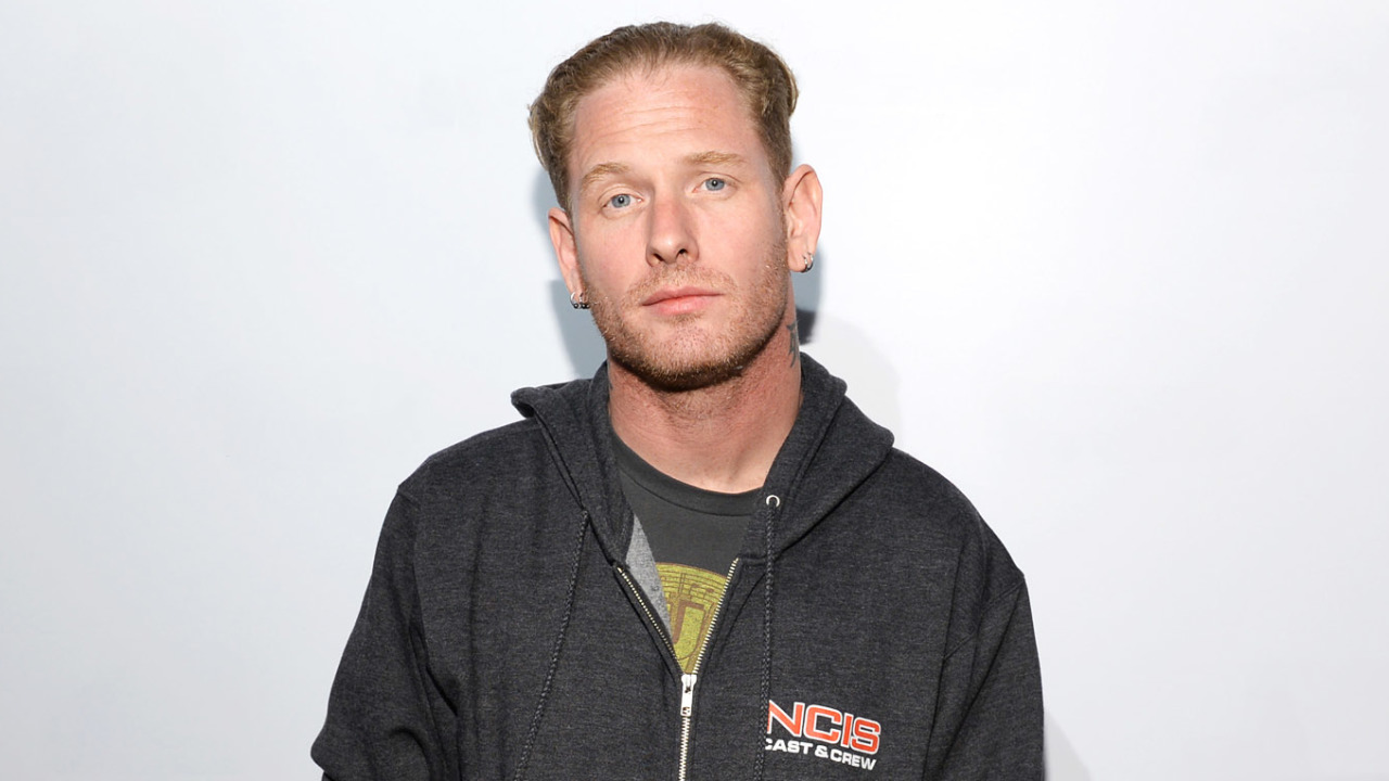 SAN DIEGO, CA - JULY 20:  Musician Corey Taylor attends Sony Pictures Home Entertainment and Evil Dead Blu-ray Fan Party At Comic Con 2013 at The Commons Bar on July 20, 2013 in San Diego, California.  (Photo by Michael Kovac/Getty Images for IGN Entertainment)