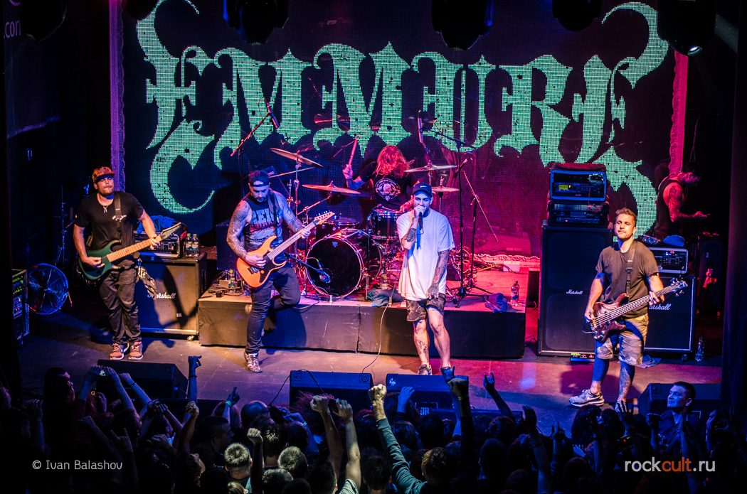 Фотоотчёт | Emmure & Born Of Osiris в Москве | Театръ | 9.09.2015