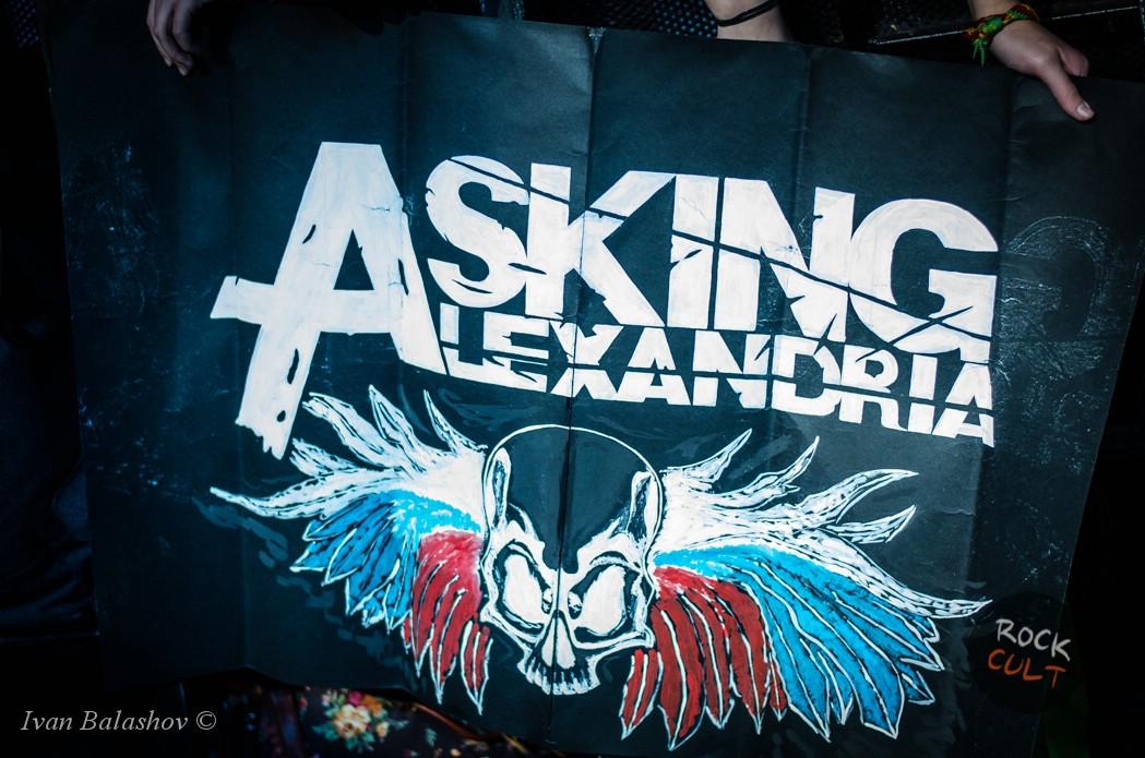 Asking Alexandria концерт в Питере (Космонавт) 30.10.15