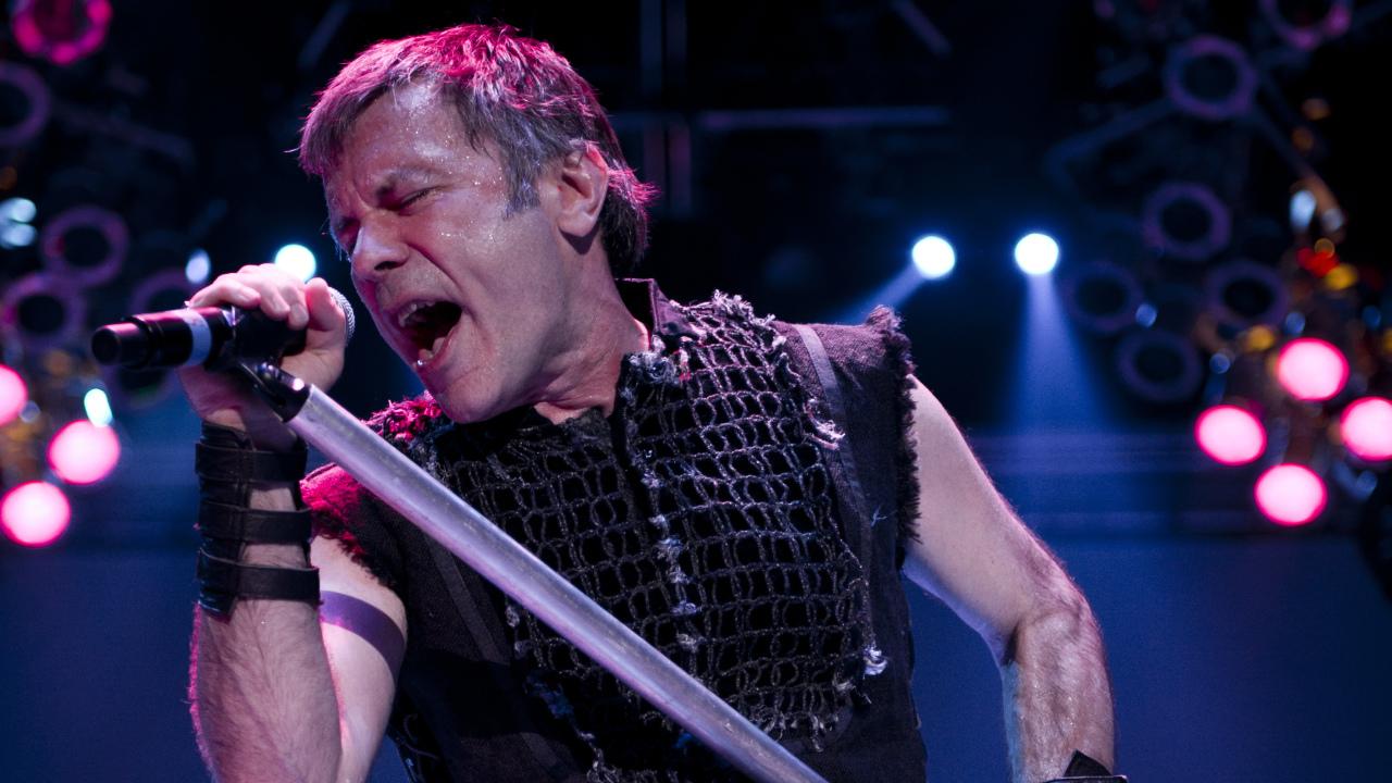 Iron Maiden headline download festival 2015