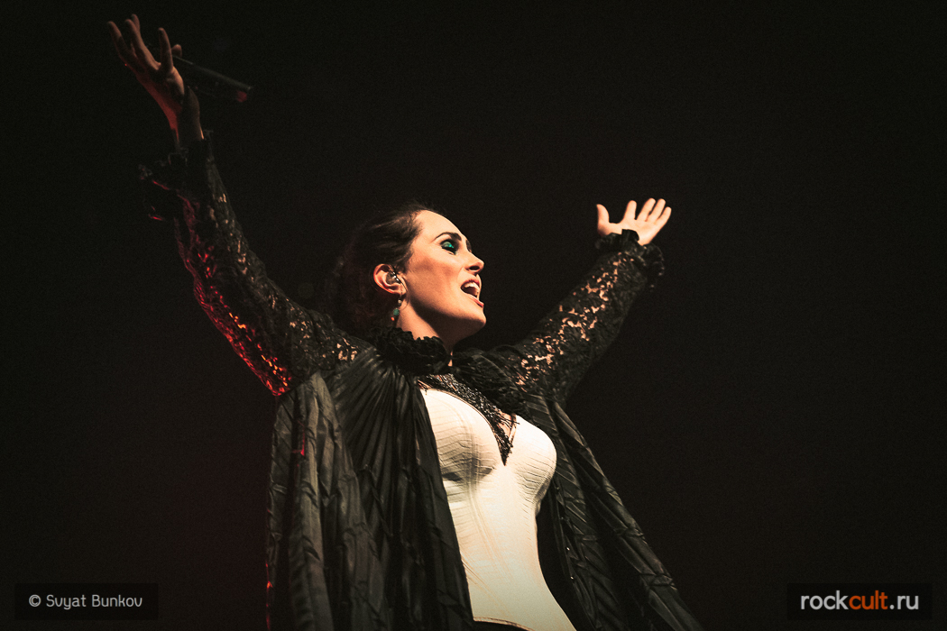 Репортаж   Within Temptation в Питере   A2   15.10.15 фотоотчет фото