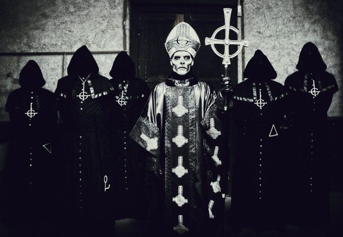 Ghost top 10 bands hiding faces 10 групп, скрывающих свой истинный облик маски