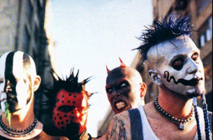 Mudvayne top 10 bands hiding faces 10 групп, скрывающих свой истинный облик маски