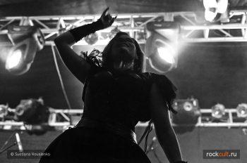 Фотоотчет | Sirenia в Москве | Volta | 2.10.2015 фото