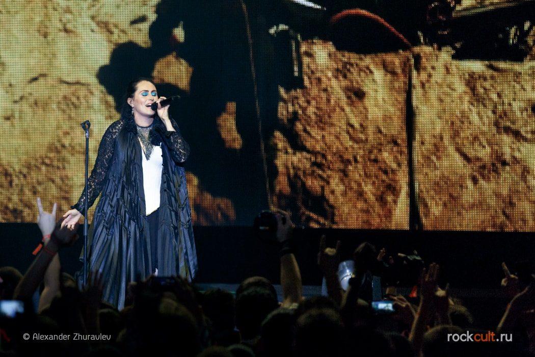 Фотоотчет | Within Temptation в Москве | Crocus City Hall | 16.10.15 фото