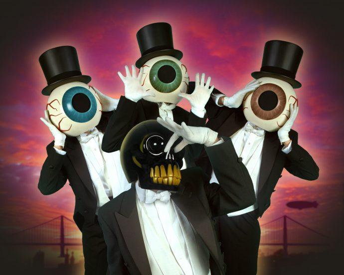 The Residents top 10 bands hiding faces 10 групп, скрывающих свой истинный облик маски