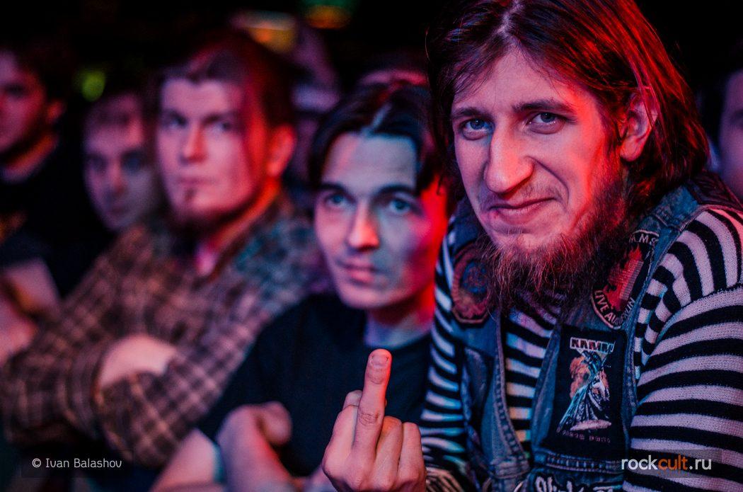Фотоотчёт | Fear Factory в Москве | Volta | 11.11.2015 зрители фото