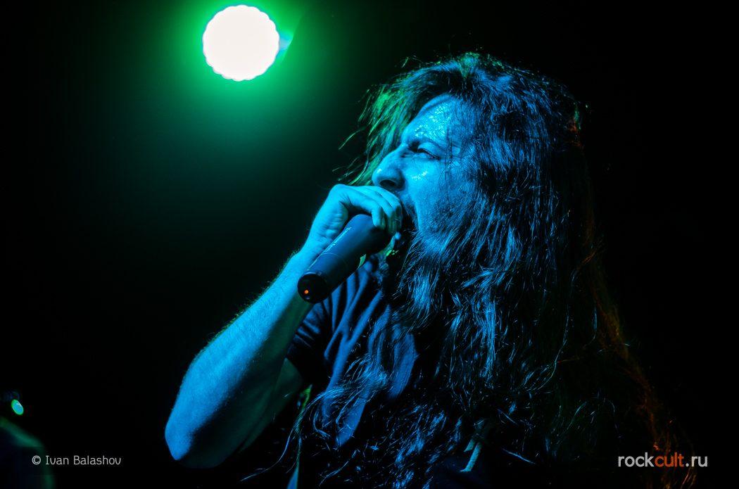 Фотоотчёт | Fear Factory в Москве | Volta | 11.11.2015 Ferium фото