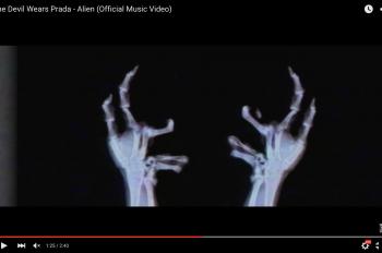 The Devil Wears Prada новый клип Alien