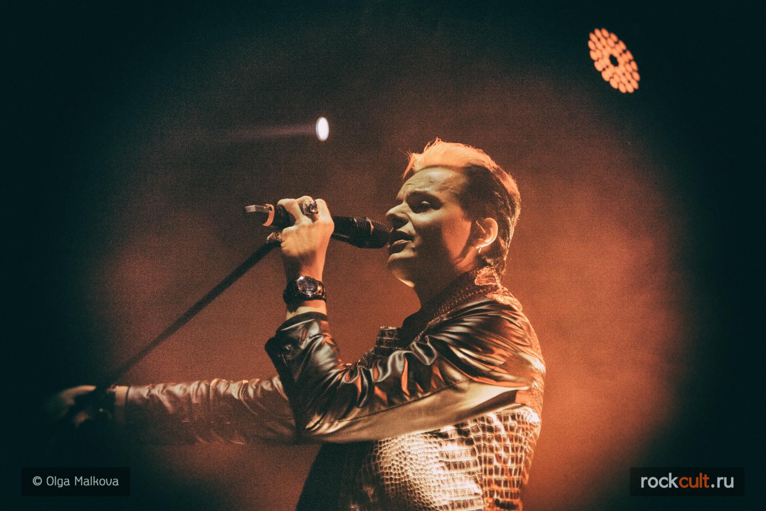 Фотоотчет Lacrimosa в Москве Ray Just Arena 19.11.2015