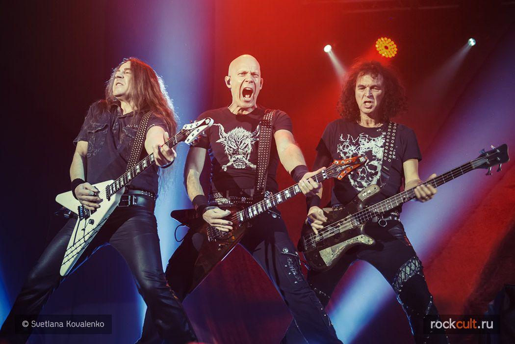 Фотоотчет Accept в Москве Ray Just Arena 26.11.2015
