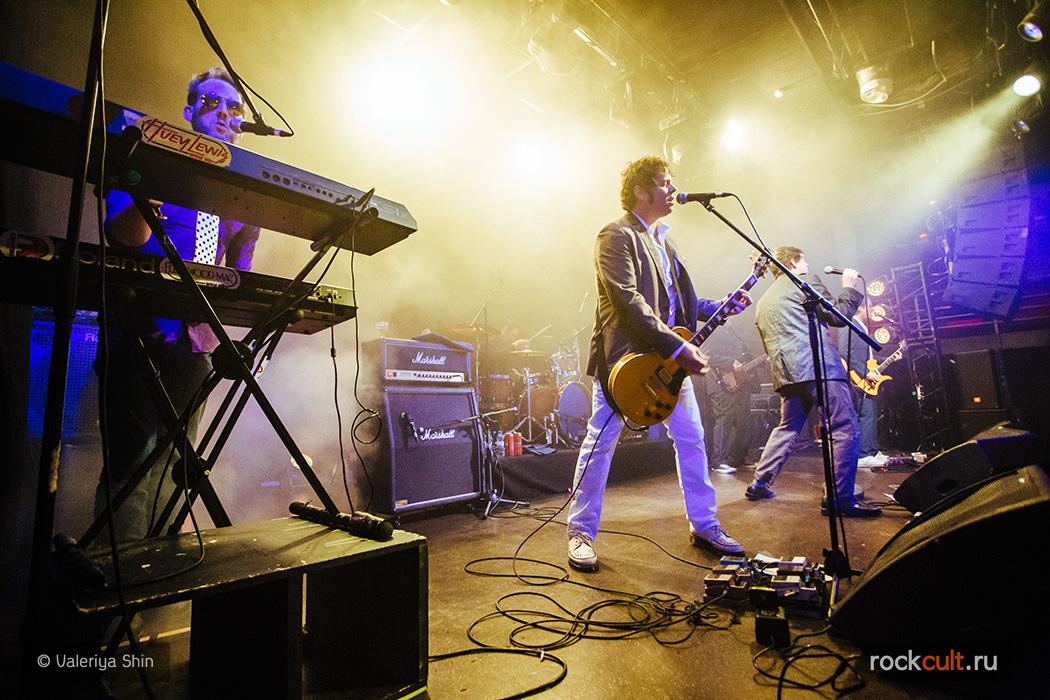 Фотоотчет | Electric Six в Питере | Космонавт | 12.11.2015 фото