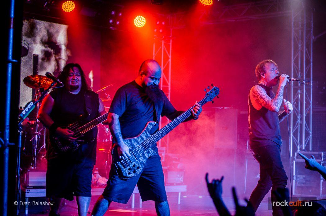 Фотоотчёт | Fear Factory в Москве | Volta | 11.11.2015 фото