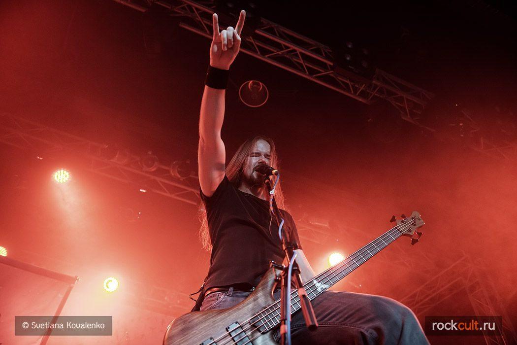 Фотоотчет   Insomnium в Москве   Volta   7.11.2015 фото