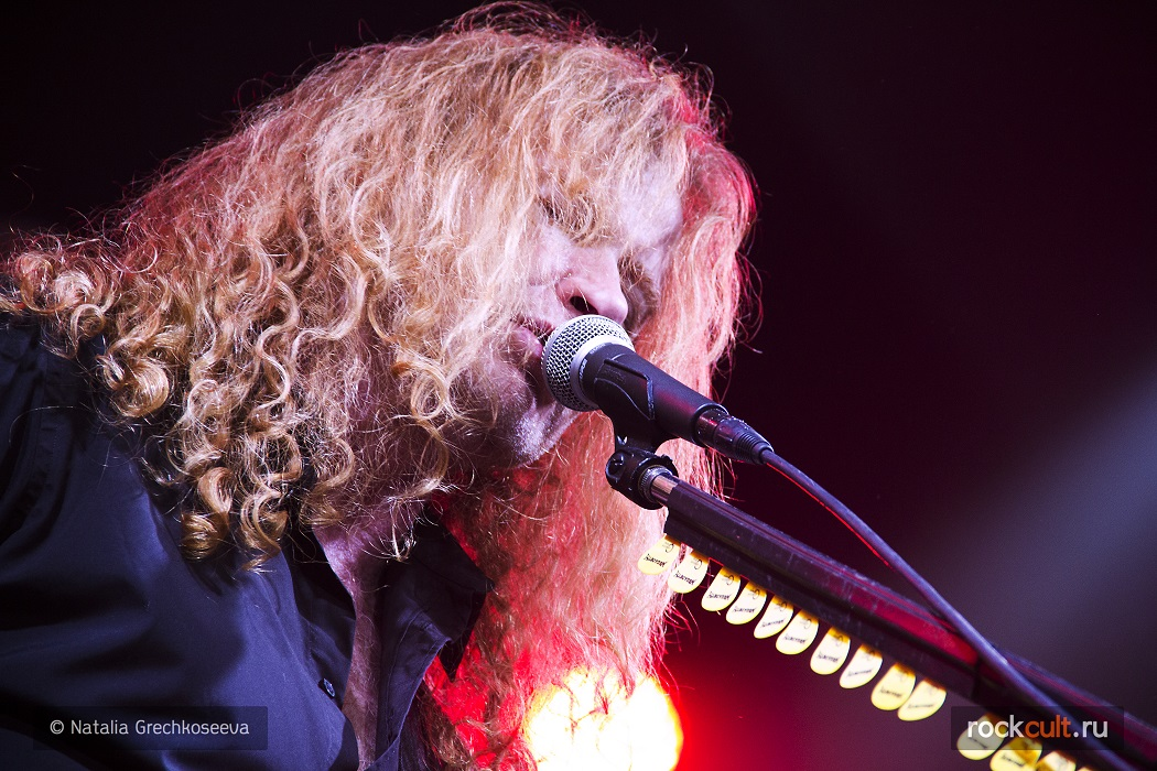 Фотоотчет   Megadeth в Питере   А2   05.11.2015 фото
