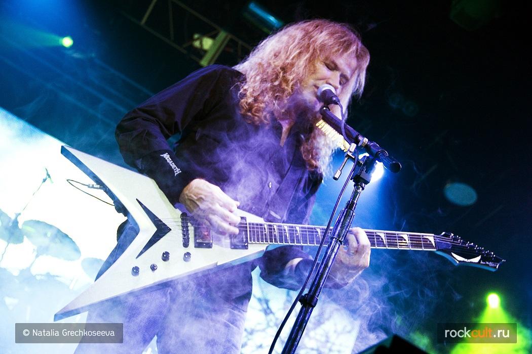 Фотоотчет | Megadeth в Питере | А2 | 05.11.2015 фото