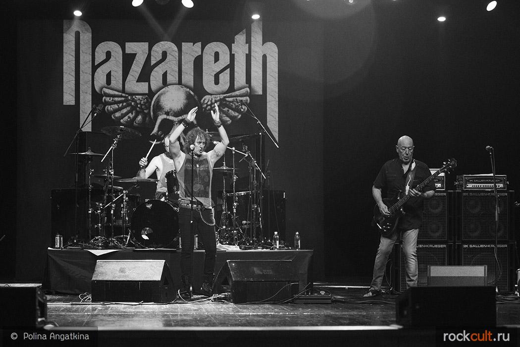 Фотоотчет | Nazareth в Москве | Crocus City Hall | 02.11.2015 фото