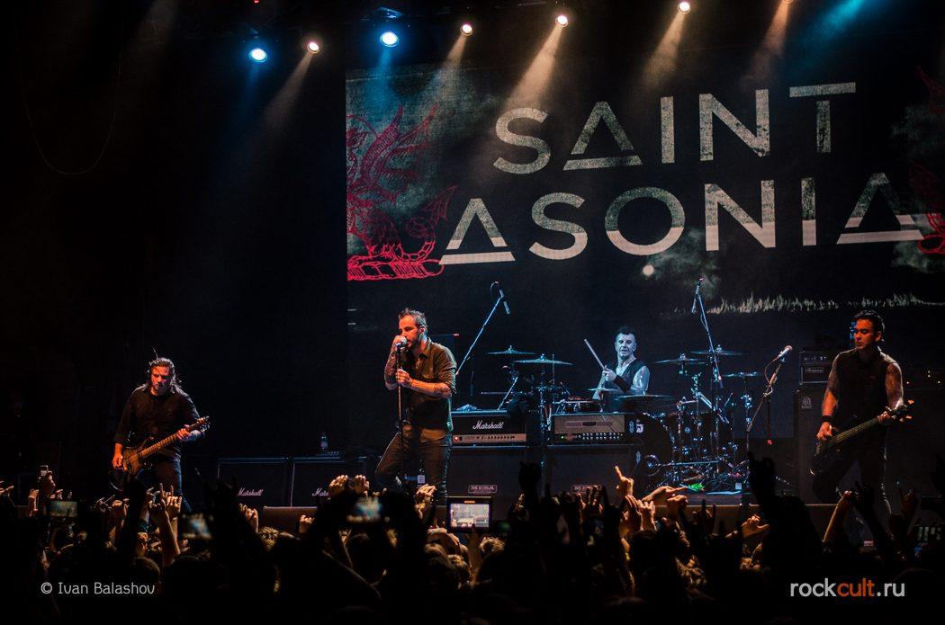 Фотоотчет | Saint Asonia в Москве | Yotaspace | 21.11.2015 фото