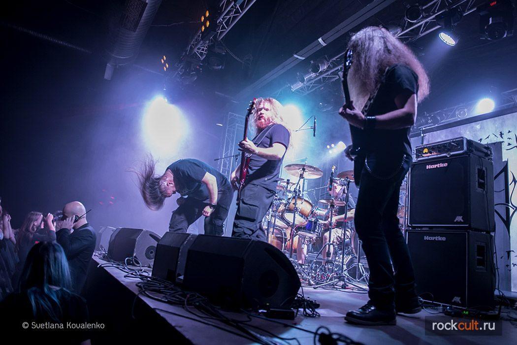 Seducer's Embrace Фотоотчет   Insomnium в Москве   Volta   7.11.2015 фото